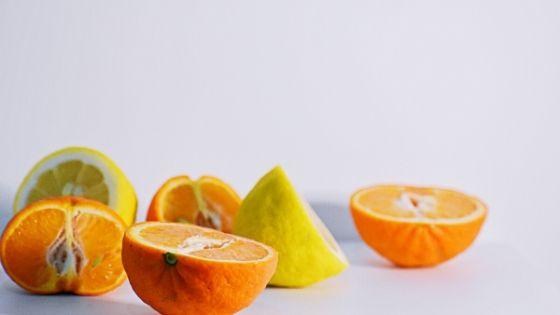 オレンジとレモンの写真