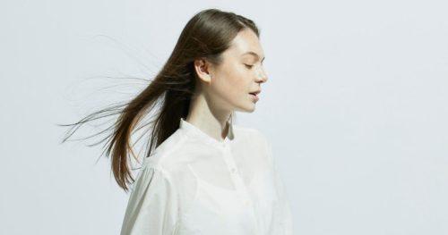 キレイな髪の女性の写真